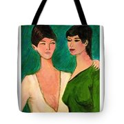 Two Sisters Tote Bag