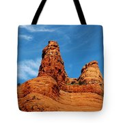 Two Sisters Formation Sedona Az Hbn2 Tote Bag