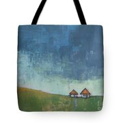 Two Sisters Houses Tote Bag