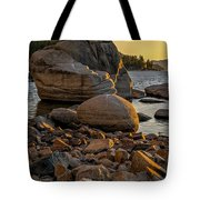Two Small Trees Tote Bag