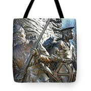 Two Soldiers Of The The African American Civil War Memorial -- The Spirit Of Freedom Tote Bag