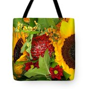 Two Suns Tote Bag