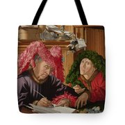 Two Tax Gatherers Tote Bag