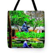 Two Thinkers Tote Bag