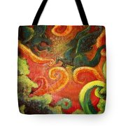 Two Tiny Dragons Tote Bag