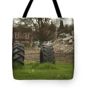 Two Tires Tote Bag