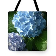 Two-toned Hydrangeas Tote Bag