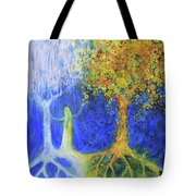 Two Trees Of Valinor Tote Bag