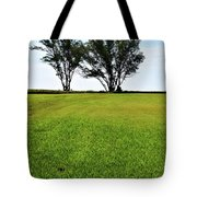 Two Trees On Meadow 15304 Tote Bag