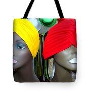 Two Turbans Tote Bag