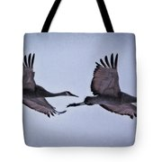 Two Under The Moon Tote Bag
