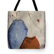 Two Vases Still Life Tote Bag