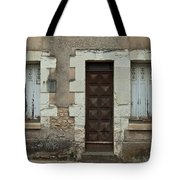 Two Windows And A Door Tote Bag