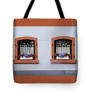 Two Windows In Schierstein Tote Bag