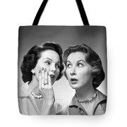 Two Women Gossiping, C.1950-60s Tote Bag