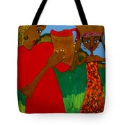 Two Women Tote Bag