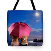 Two Women Relaxing On A Shore Tote Bag
