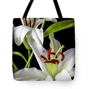 Two Wonderful Lilies  Tote Bag