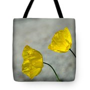 Two Yellow Blossoms Tote Bag