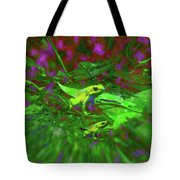 Two Yellow Frogs Tote Bag