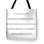 Twombly Tote Bag