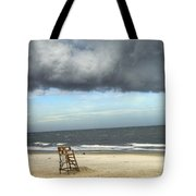 Tybee Island Storm Tote Bag