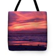 Tybee Island Sunset Tote Bag