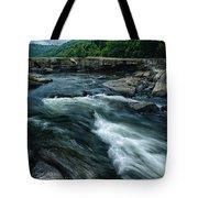 Tygart Valley River Tote Bag