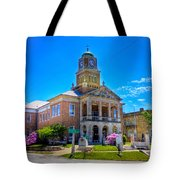 Tyler County Courthouse Tote Bag