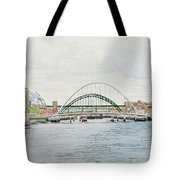 Tyne Bridges And Quayside Tote Bag