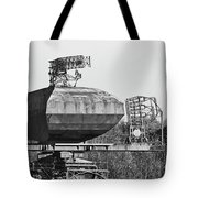 Type 85 Radar At Raf Neatishead Tote Bag