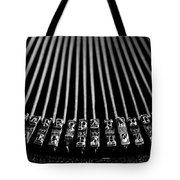 Typeface I Tote Bag by Rod Sterling