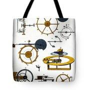 Types Of Clock Mechanism, 1810 Tote Bag