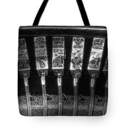 Typewriter Keys Tote Bag