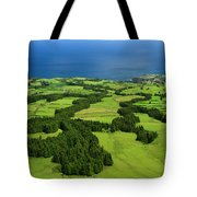 Typical Azores Islands Landscape Tote Bag