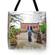 Typical House India Rajasthani Village 1c Tote Bag