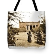 Typical House India Rajasthani Village 1e Tote Bag