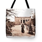 Typical House India Rajasthani Village 1f Tote Bag
