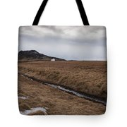 Typical Icelandic Mountain Landscape Tote Bag