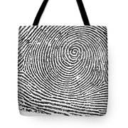 Typical Whorl Pattern In 1900 Tote Bag