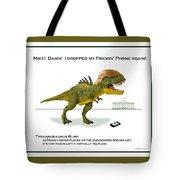 Tyrannosaurus Rump Tote Bag