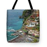 Tyrrhenian Sea Amalfi Coast Tote Bag