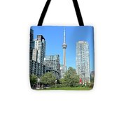 Toronto Towers From The Park Tote Bag