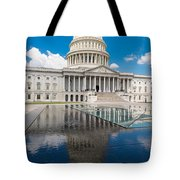 U S Capitol East Front Tote Bag