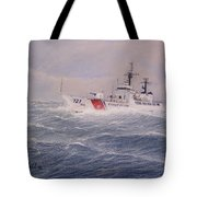 U. S. Coast Guard Cutter Gallitin Tote Bag