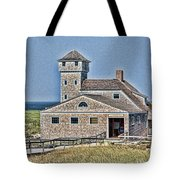 U S Lifesaving Station Tote Bag