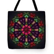 u028 Wholehearted Hibiscus Tote Bag