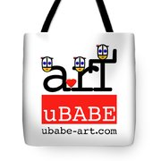 uBABE Art Wave Tote Bag