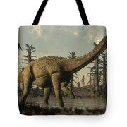Uberabatitan Dinosaur Walking Tote Bag