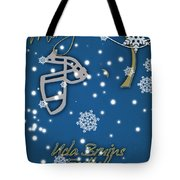 Ucla Bruins Christmas Card Tote Bag
